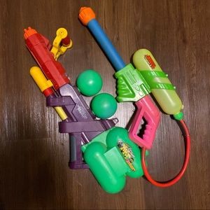 Super soaker set